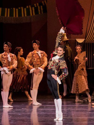 Don Quijotte/ ch.Rudolf Nurejew, photo Michel Pöhn