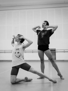 as Angel with Geraud Wielick, photo Ashley Taylor