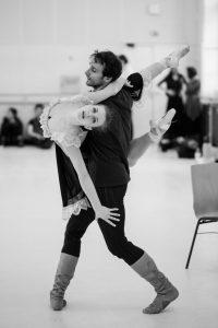 with Irina Tsymbal, photo Ashley Taylor