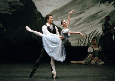 with Polina Semionova, photo Axel Zeininger