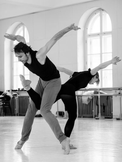 Bella Figura/ ch.Jiří Kylián, with Irina Tsymbal, photo Ashley Taylor