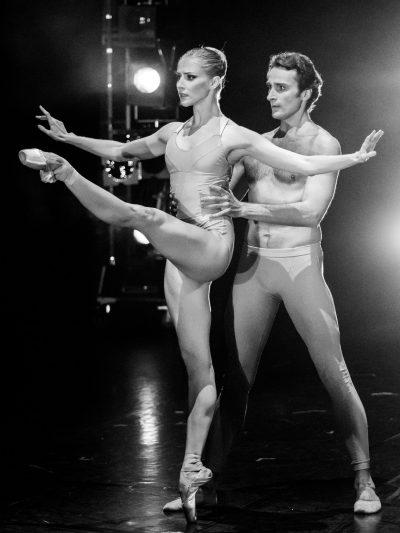 Fool´s Paradise/ ch.Christopher Wheeldon, with Olga Esina, photo Ashley Taylor