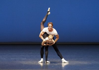 Violin Concerto/ ch.George Balanchine, with Olga Esina, photo Ashley Taylor